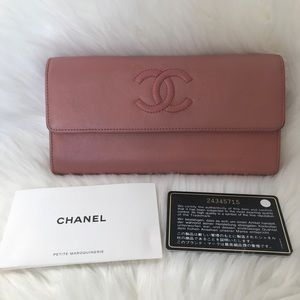Chanel caviar authentic wallet